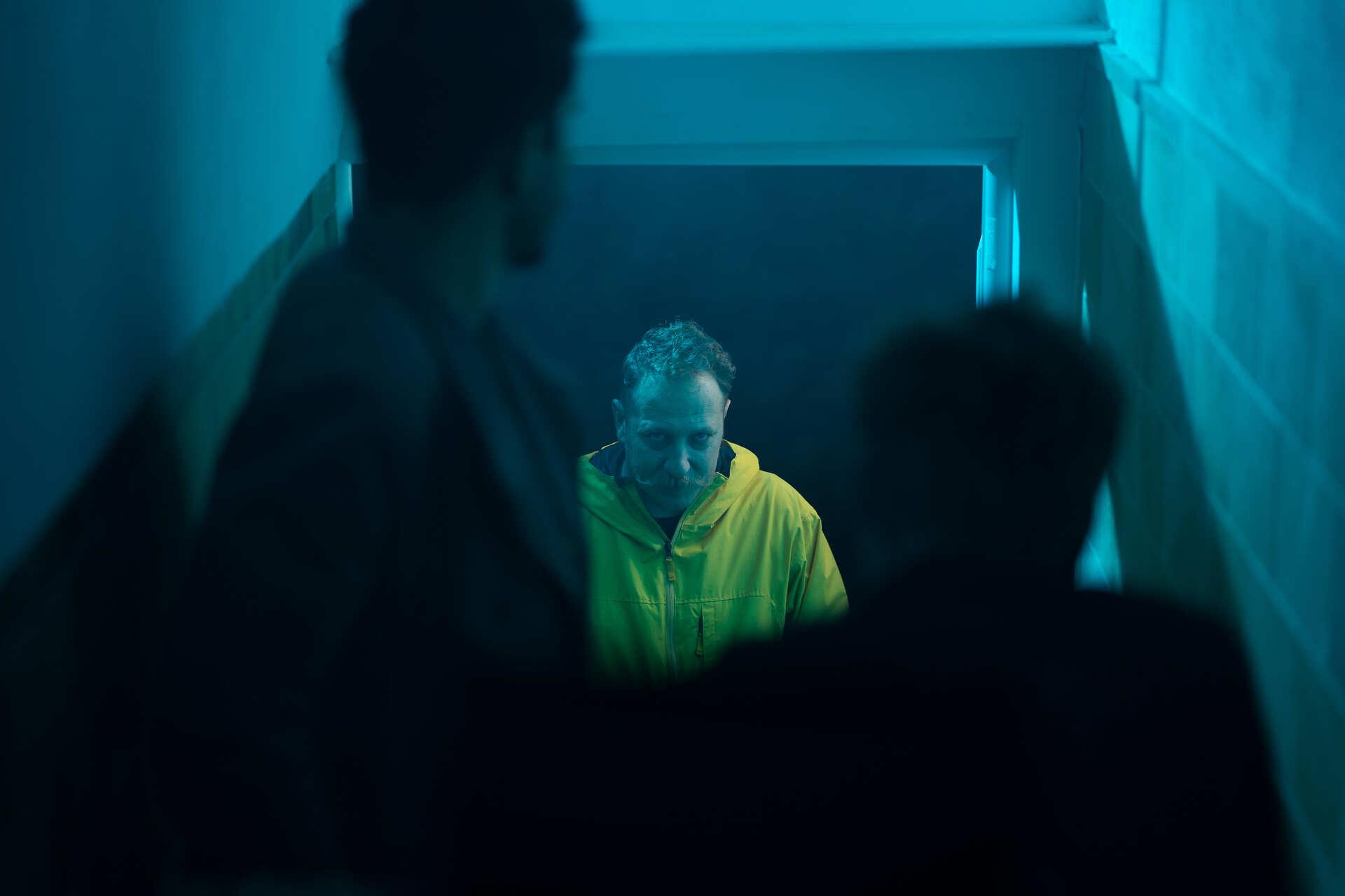 behind the scenes kurzfilm dreh blaues gold christian bucher